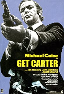 Posterazzi EVCMCDGECAEC016H Get Carter Michael Caine 1971 Movie Poster Masterprint, 11 x 17