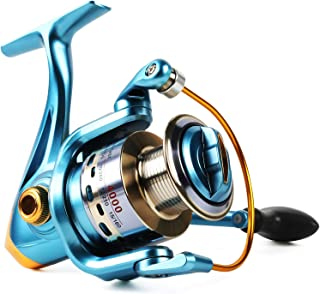 Sougayilang Fishing Reel Spinning 11+1bb Left/Right Interchangeable Spinner Gear High..