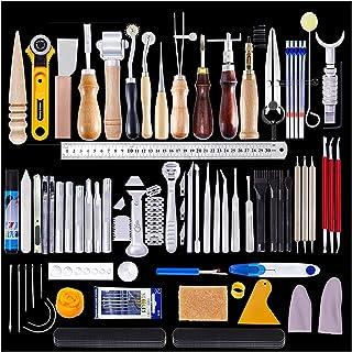Delawen L7 Maroquinerie Professionnel Craft Tools Kit Coupeur à Main Découpeuse Couture Coucher Couper Couper Cuisson Tool...
