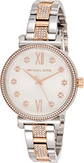 Michael Kors Women's 'Sofie' Quartz Stainless Steel Casual Watch