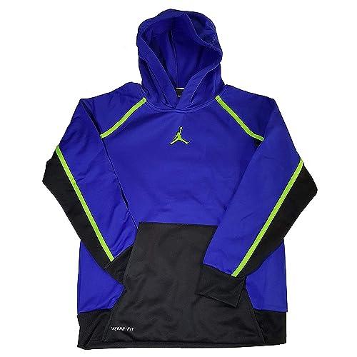 252a3fc7dd403f Nike Air Jordan Boys Jumpman Victory Therma-fit Pullover Hoodie