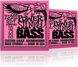 Ernie Ball 2831 Slinky Round Wound Power Bass Strings 2 Pack