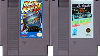 Rad Racer & Rad Racer II - 2 NES Games
