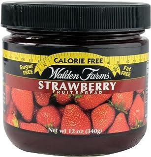 Walden Farms Strawberry Fruit Spread, 12 Ounce - 6 per case.