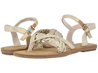 TOMS Lexie (Natural Shimmer Canvas) Women