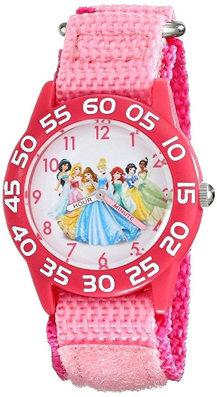 メイエラ広げる発音[ディズニー]Disney キッズ ディズニープリンセス ピンク 可愛い キャラクターウォッチ W001990 腕時計 [並行輸入品]