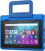 Amazon Kid-Friendly Case for Fire 7 tablet (Only compatible with 9th generation tablet, 2019 release), Intergalactic