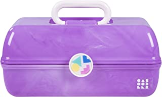 Caboodles On-The-Go Girl Purple Marble Vintage Case, 1 Lb