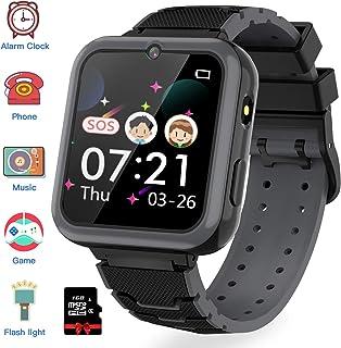 comprar comparacion Jaybest Reloj Inteligente para Niños, Smartwatch niños con Hacer Llamada, SOS, Cámara, Música, Juegos y Despertador, Regal...