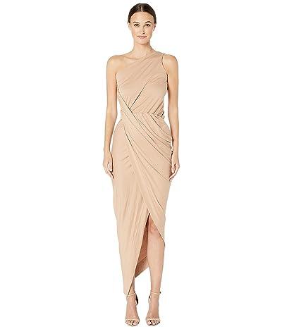 Vivienne Westwood One Shoulder Vian Dress (Flesh) Women