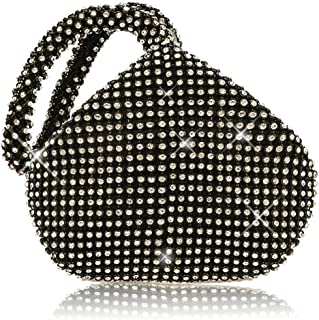 P&R Triangle Luxury Full Rhinestones Women's Fashion Evening Clutch Bag Party Prom Wedding Purse - Best Gife For Women