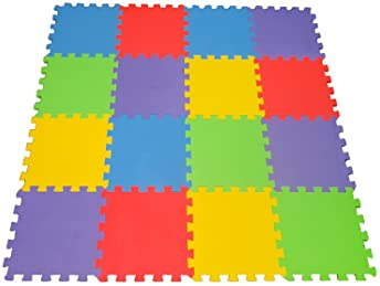 Angels 20 XLarge Foam Mats Toy ideal Gift Colorful Tiles Multi Use Create  Bu