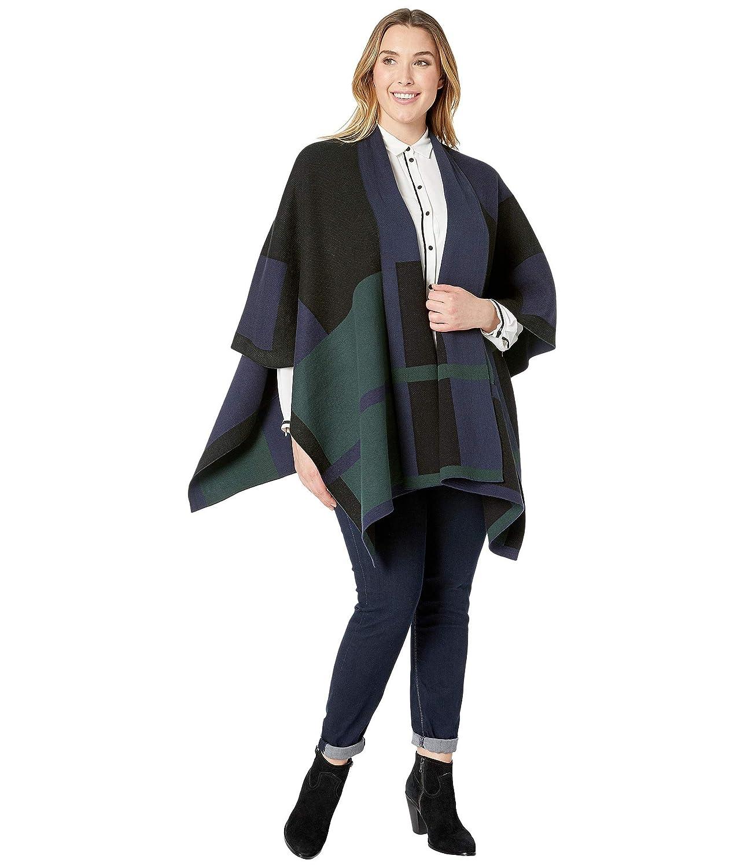 [LAUREN Ralph Lauren(ローレンラルフローレン)] レディースコート?ジャケット?アウター Plus Size Plaid Cotton Blend Poncho [並行輸入品]