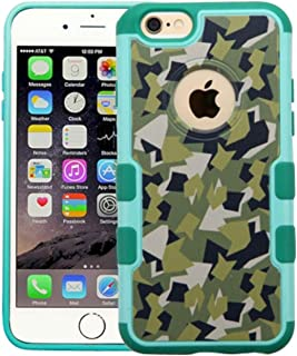 MyBat Cell Phone Case for Apple iPhone 6/6s Plus - Retail Packaging - Green