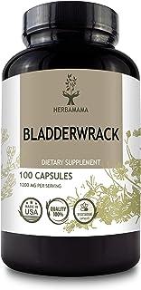 Bladderwrack 100 Capsules 1200 mg | Filled with Organic Bladderwrack | Thyroid Support | Digestive Health |...