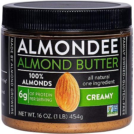 Almondee California Almond Butter - 16 Ounce Jar