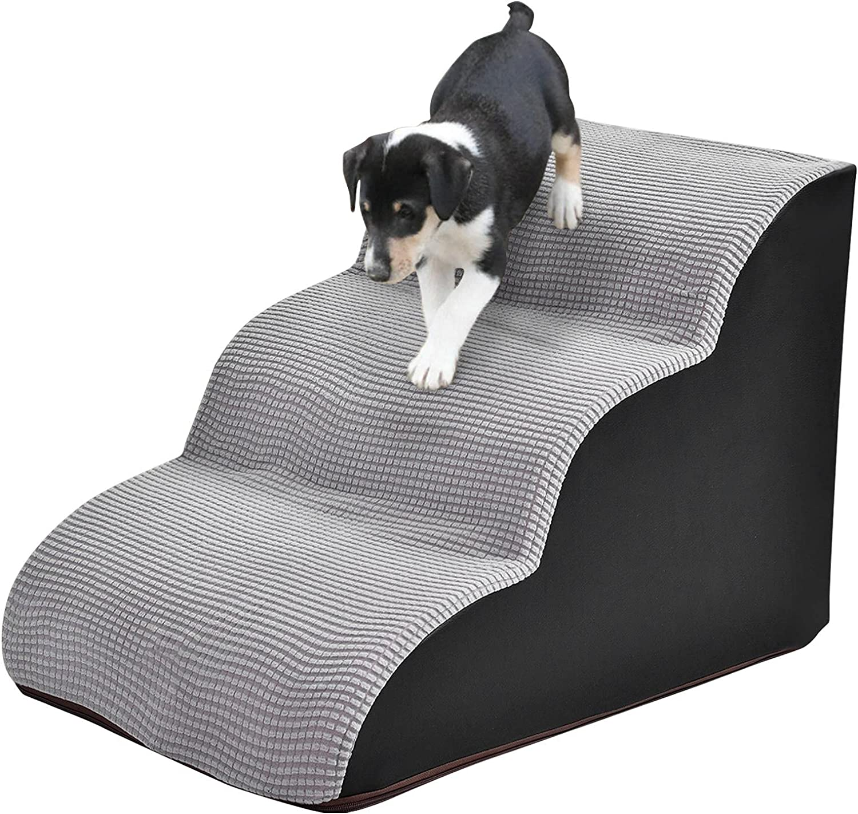 Glum Soldering 3 Steps Foam Pet Popular overseas Dog Ladder Stairs