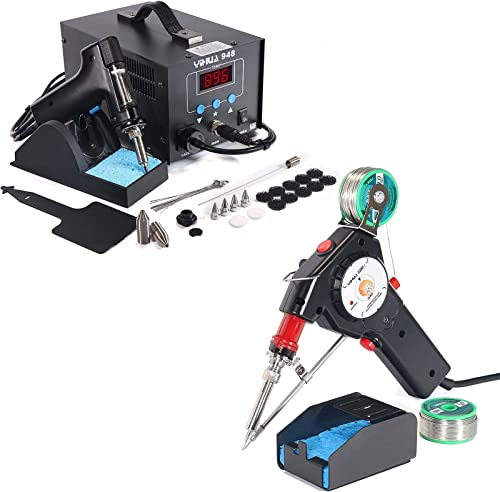 2021 YIHUA 948 Desoldering System Bundled wholesale with sale YIHUA 929D-I Auto-feed Soldering Gun (32 items) sale
