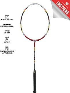 YANG-YANG Professional Series Lightweight High Modulus Graphite Badminton Racket (Vital Material for Strength&Shock Absorption reducing Muscle Injury) w/Carrying Bag