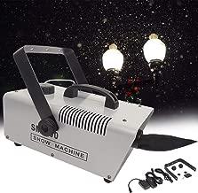 عاصفة ندفة الثلج 600 وات صناعية، جهاز ثلج مع جهاز تحكم عن بعد عن بعد، جهاز نفخ الثلج، لحفلات أعياد الميلاد والأعياد, 600W