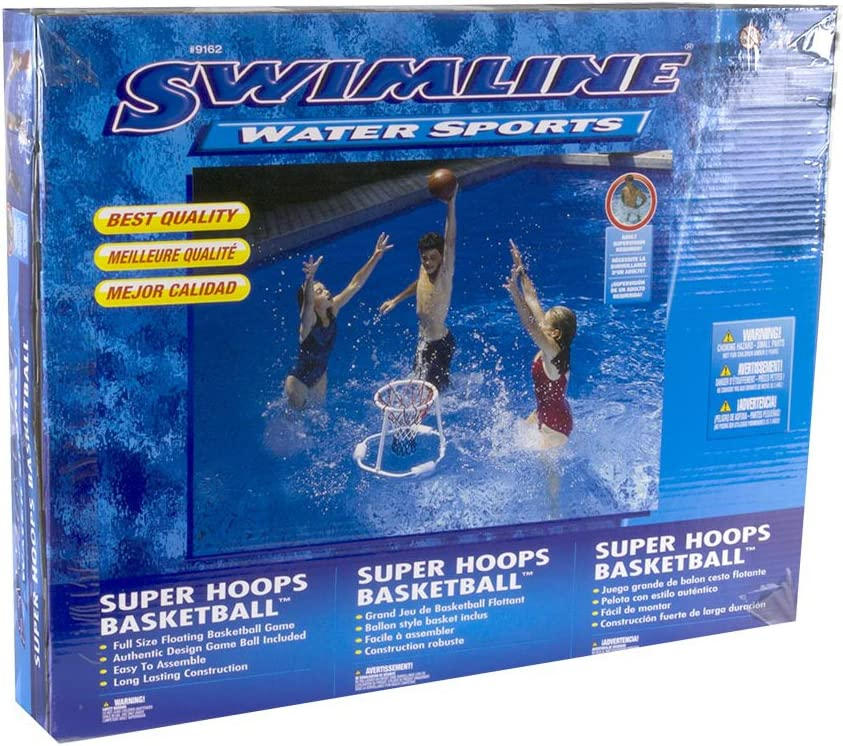 Swimline Volleyball Game Under blast sales w Hoops Basketball Floating Lowest price challenge Pac 2