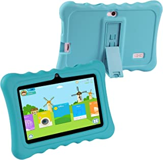 KOCASO DX765Pro Kids Tablet (Blue)