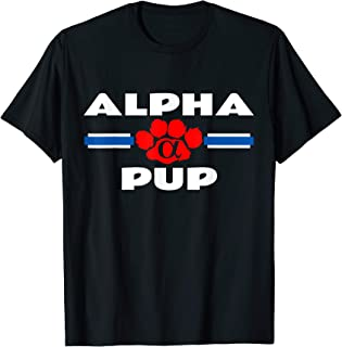 Mens Alpha Pup Gay Leather Fetish Puppy Play BDSM Guys T-shirt