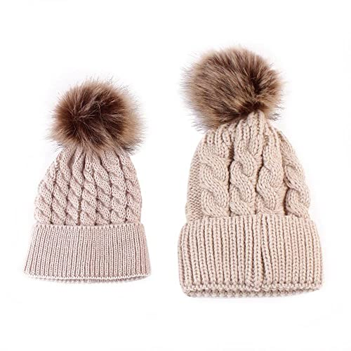 173164216 Baby Fur Bobble Hat: Amazon.co.uk