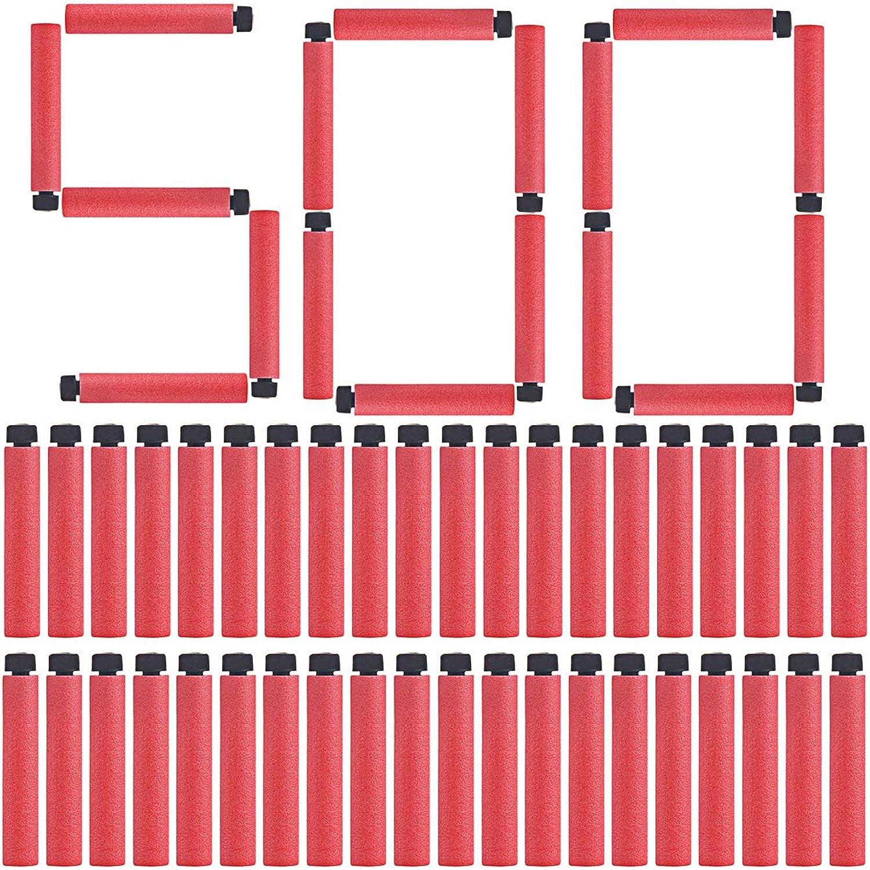 FenglinTech Worker 500PCS Darts Refill for Nerf NStrike Elite