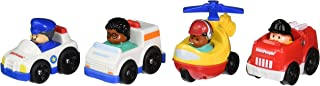 Fisher-Price Little People Wheelies Community Helpers 4-Pack