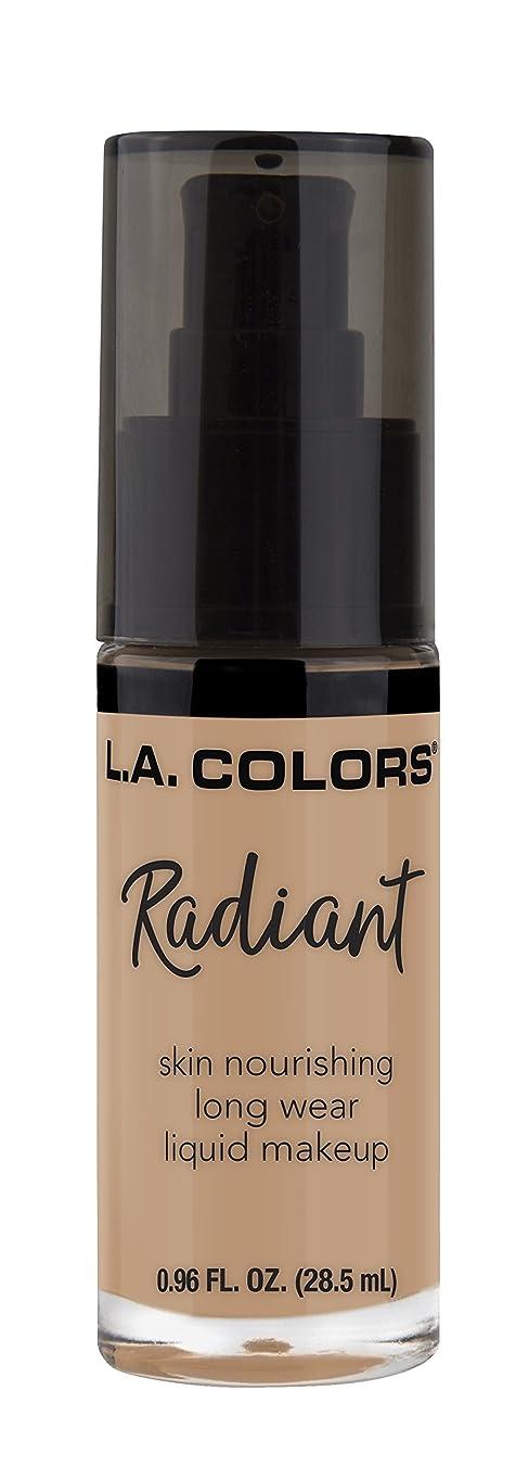 エピソードタウポ湖認識L.A. COLORS Radiant Liquid Makeup - Fair (並行輸入品)