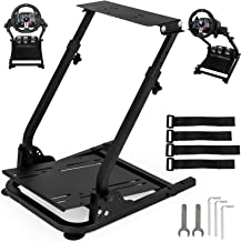 VEVOR G920/G29 Racing Wheel Stand fit for Logitech G27/G25 Gaming Wheel Stand fit for Thrustmaster,Wheel Pedals NOT Included Shifter Mount NOT Included