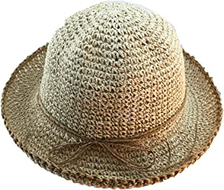 Hand-Folding Straw Hat Female Summer Beach Hat Travel Straw Hat Beach Hat Sun Hat