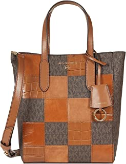 Michael Kors Sinclair Small North/South Shopper Tote Brown Multi One Size