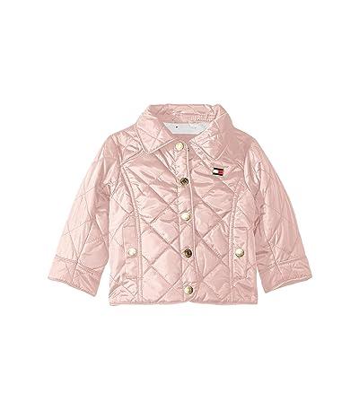 Tommy Hilfiger Kids Diamond Quilted Barn Jacket (Big Kids) (Crystal Rose) Girl