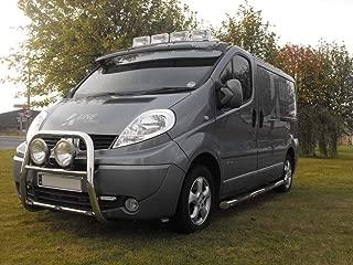 Fitting Kit BRA3555-LOW Van Front Bull Bars Light A Bar Stainless Steel Chrome Silver
