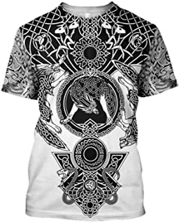 2 New Men's T-shirts Ladies Short Sleeve The Best Gift For Friends, Brothers And Sisters (Color : B, Size : Large)