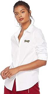 Tommy Hilfiger Women's WW0WW23967-White Shirts