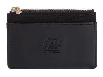 Herschel Supply Co. Oscar RFID (Black 1) Wallet Handbags