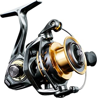 PLUSINNO GG Fishing Reel, High Speed Spinning Reel with 5.1:1 - 5.7:1 Gear Ratio, 22-30 LB Powerful Drag System, 9+1BB, Aluminum Spool for Fresh Water and Saltwater