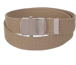 Sunny Belt 男女通用儿童 2.54 厘米宽裁剪适合帆布腰带/*扣