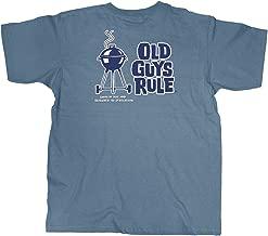 Old Guys Rule Men's Smokin' Hot Short Sleeve Shirt