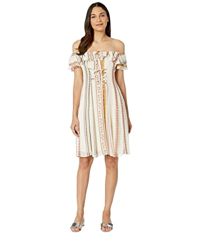 ASTR the Label Cassidy Dress (Pink Multi Floral) Women
