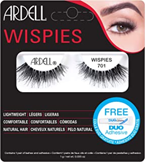 Ardell Wispies 701 with Free DUO Glue
