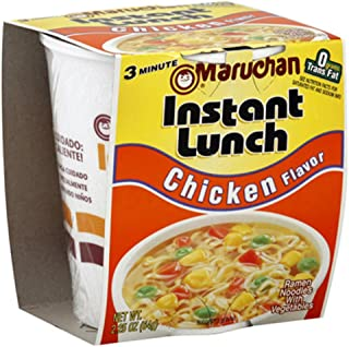 Maruchan CHICKEN FLAVOR Instant Lunch 2.25oz (18 pack)