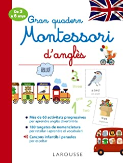 Gran quadern Montessori d'anglès