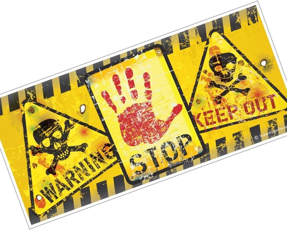 Superduperdecor Bedroom Door Sign Warning Stop Keep Out Amazon Co Uk Home Kitchen