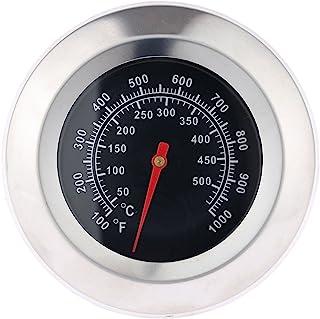 喫煙温度計 温度ゲージ バーベキュー料理用 焙煎 屋外グルメ 計量 温度計 キッチン用品 安全 100℉-1000℉