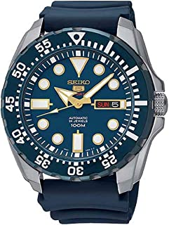 Seiko Men's Diver Automatic SRP605K2 Blue Rubber Automatic Fashion Watch