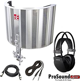 sE Electronics SPACE - Specialised Portable Acoustic Control Environment - Free AKG K44 Recording Headphone and Cables (ProSoundGear) Authorized Dealer